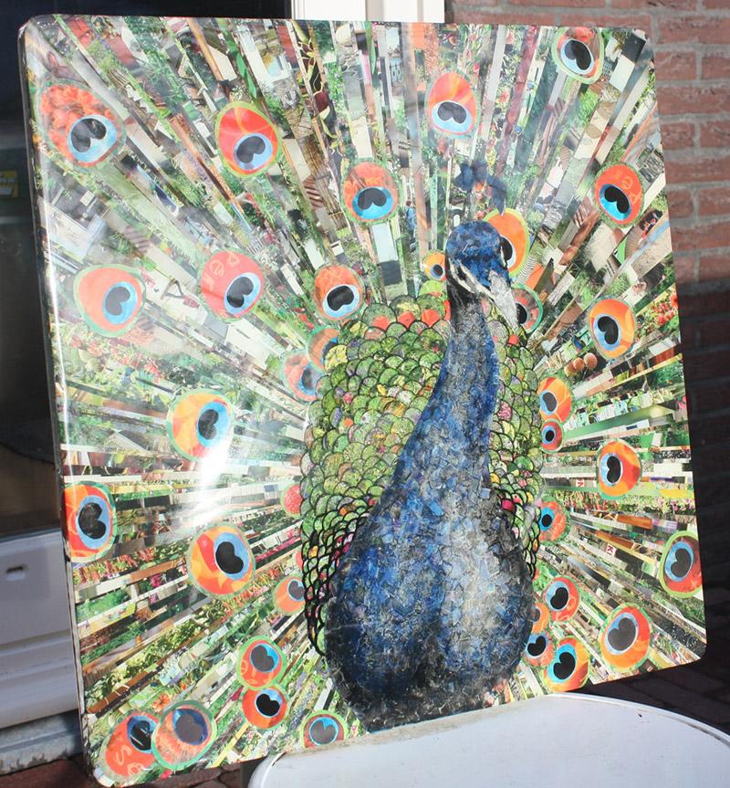 Kunstwerk in epoxy